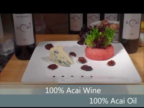 Cooking with Acai Wine Part 1: Poached Asian Pear Salad.wmv