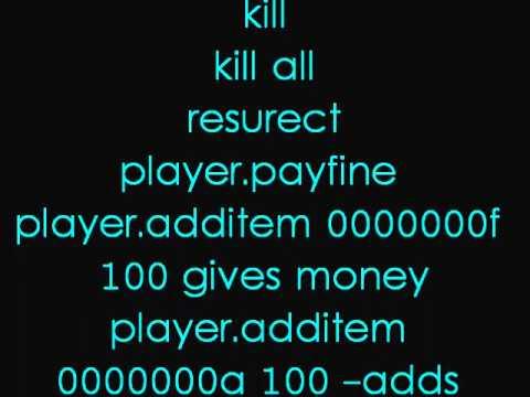 Oblivion PC Cheats