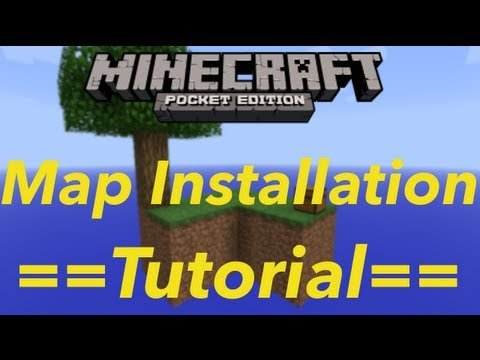 How to Install Custom Maps for Minecraft Pocket Edition {NO JAILBREAK NEEDED}