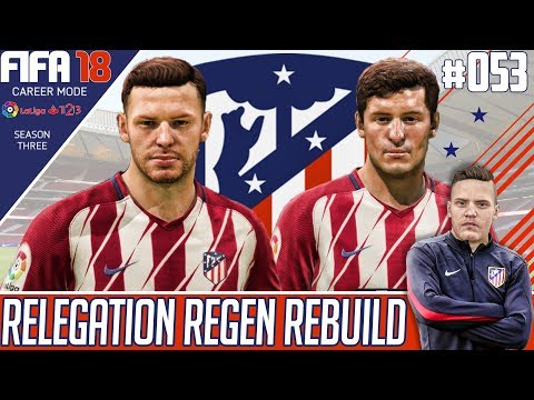 GOALKEEPER COMEDY ! - Fifa 18 Atletico Madrid Career Mode - Relegation Regen Rebuild - EP 53