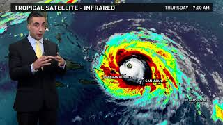 Tracking Hurricane Irma and Jose: Outlook for Sept. 7, 2017
