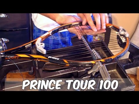 HOW TO STRING A PRINCE TENNIS RACQUET - THE EASY WAY!!