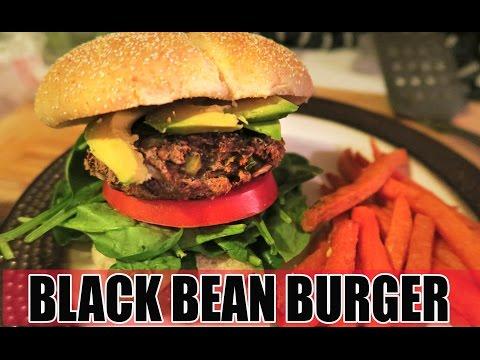AN IDIOT'S BLACK BEAN BURGER! - #TastyTuesday