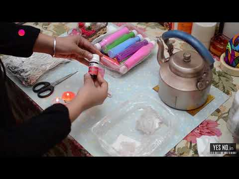 How to Make Personalised Glass Gel Candle - YesNo.in