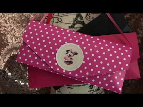 How to make A Hershey Purse for Party Favors, Invitations or Gifts | Make it with Cricut