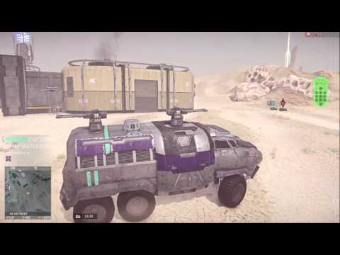PlanetSide 2 Covertclay flying in a lightning