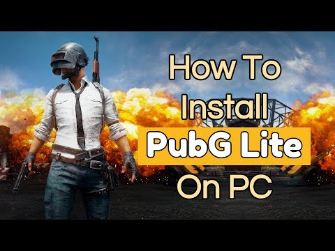 How To Download And Install PubG Lite On PC [TUTORIAL]    Thailand Best VPN
