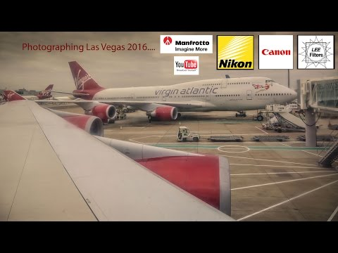 Las Vegas vlog 2016 Day One UK To The USA