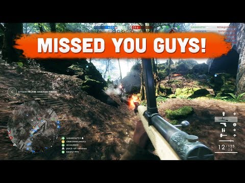 I MISSED YOU GUYS! - Battlefield 1 | Road to Max Rank #100