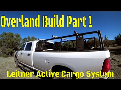 Overland Camping Vehicle Build! Part 1: Leitner Designs Active Cargo System