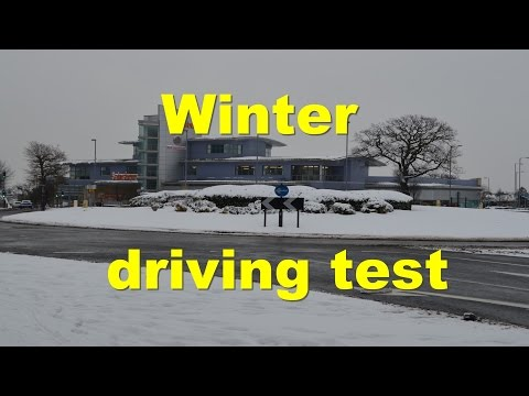 Winter driving test in the snow and ice - Christmas special 2012