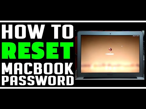 HOW TO REMOVE MACBOOK PASSWORD IF CANNOT LOGIN
