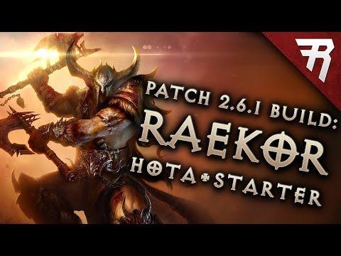 Diablo 3 2.6.1 Barbarian Build: Starter & Raekor GR120+ (Guide, Season 14)