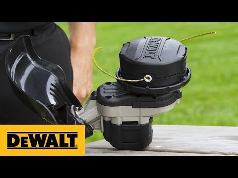 How to Replace Trimmer Line on a DEWALT® 40V MAX* String Trimmer (DCST995)