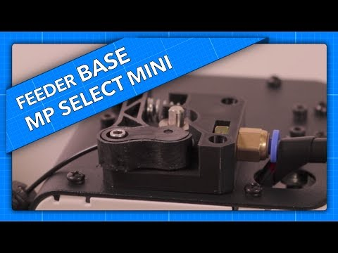 MP Select Mini Feeder Upgrade for Flexible Materials - The Base Plate