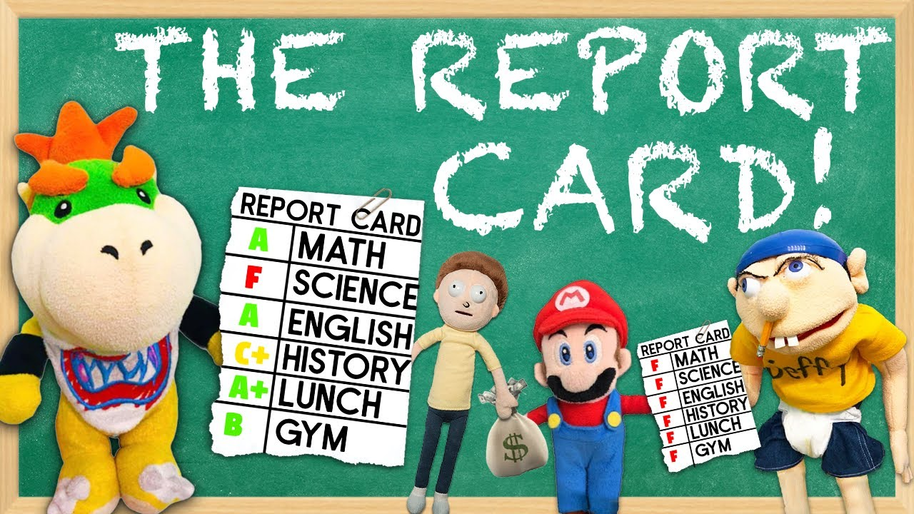SML Parody: The Report Card!
