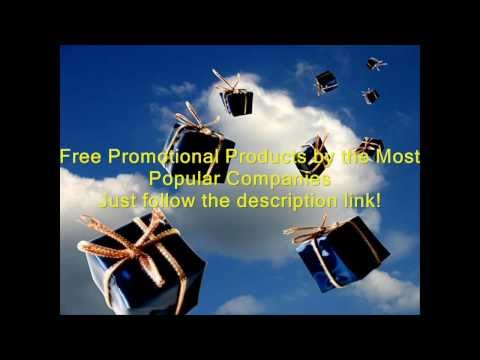 Free Promotional Products by Most Popular Companies