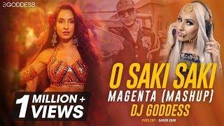 O Saki Saki | DJ Goddess | DJ Snake | Magenta Mashup | John Abraham | Nora Fatehi