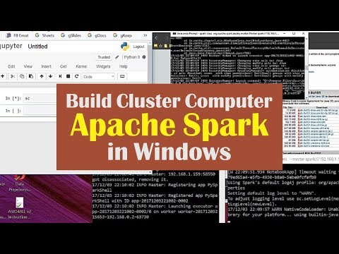 03 Build Cluster Computer Apache Spark in Windows