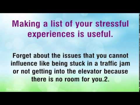 5 Great Tips To Handle Stress