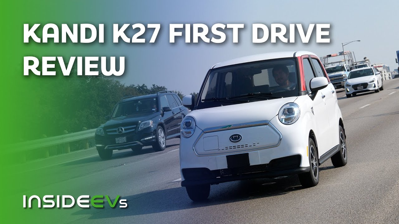 Kandi K27 First Drive & Review: Is This Chinese EV Worthy Of Hitting US Highways?