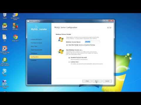Mysql error Unable to Configure Service (Brazilian Portuguese)