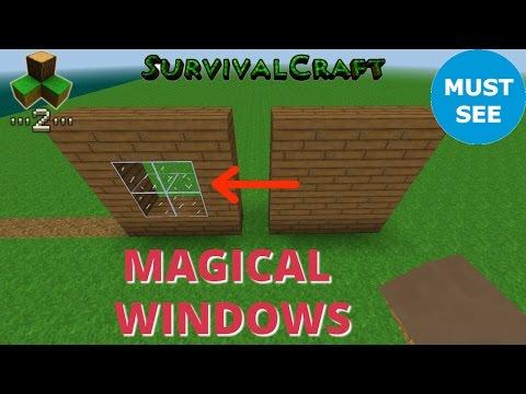 Survivalcraft 2 - Magical Windows | Survivalcraft Furniture