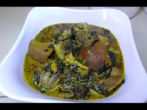 How To Make Nigeria Bitterleaf soup (ofe onugbu)