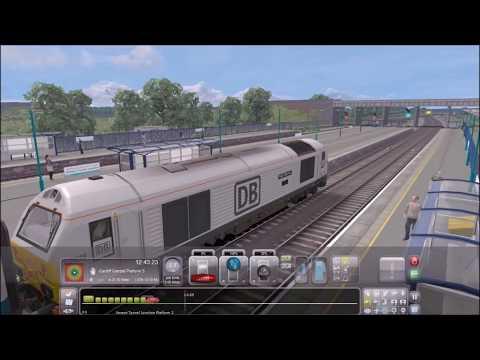 Train Simulator 2017 | Bristol Temple Meads - Cardiff Central | Via Bristol Parkway