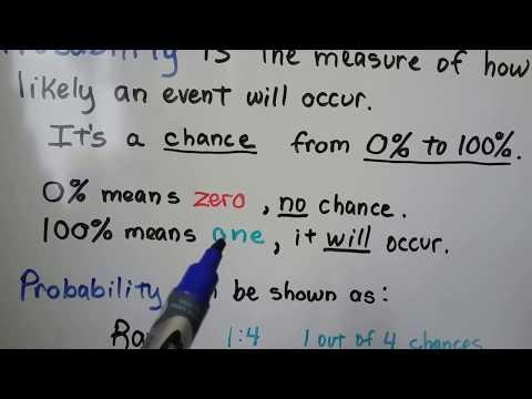 G.E.D. Math 16b, Simple probability
