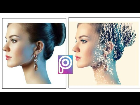 Picsart Tutorial :Double exposure effect || How to make double  exposure in Picsart