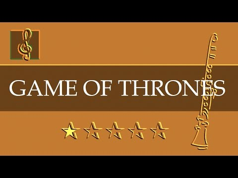 Clarinet Guitar Duet Game Of Thrones Theme Sheet Music