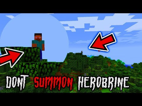 MINECRAFT: DO NOT SUMMON HEROBRINE ON FRIDAY THE 13TH   (Ps3/Xbox360/PS4/XboxOne/WiiU)