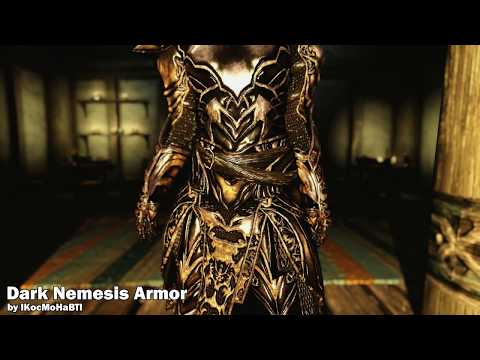 Skyrim Mods: Lunari Race, Tobuscus, Dark Nemesis Armor, Dryads