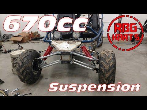 670cc Predator Off Road Go Kart Lift Kit