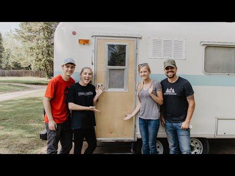 Making A New Fiberglass RV Door with Drivin' And Vibin'