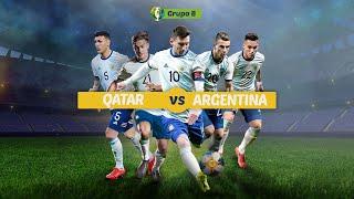 [EN VIVO] ARGENTINA vs. QATAR - Copa América Brasil 2019 [ Radio La Red ]