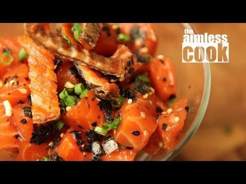 Salmon Poke Recipe - Hawaiian Classics