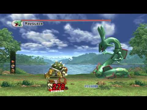 Super Smash Bros. Brawl (The Subspace Emissary) Boss # 49: Subspace Rayquaza