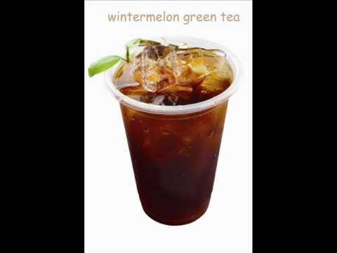 wintermelon bubble tea