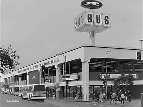 L.A. 's Greyhound & RTD Terminal revisited -- exactly 50 years later!