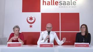 Halle (Saale): Video-Pressekonferenz vom 27. Mai 2020 zur aktuellen Corona-Lage