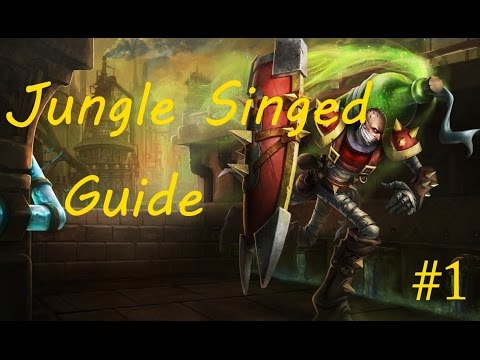 Jungle Singed Guide : Off Meta Pick Guides #1