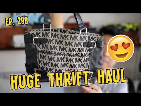 HUGE COLLECTIVE THRIFT HAUL   EP. 298