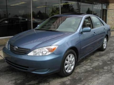 2002 Toyota Camry LE review buying tips