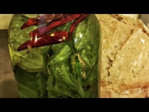 Fresh Organic Herb Infused Oils