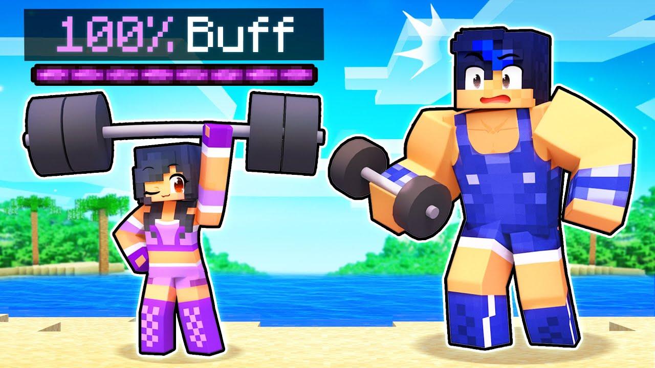 Aphmau Got 100% BUFF In Minecraft!