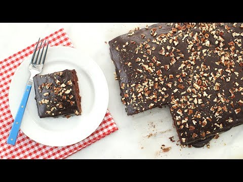 Chocolate Texas Sheet Cake - Everyday Food With Sarah Carey