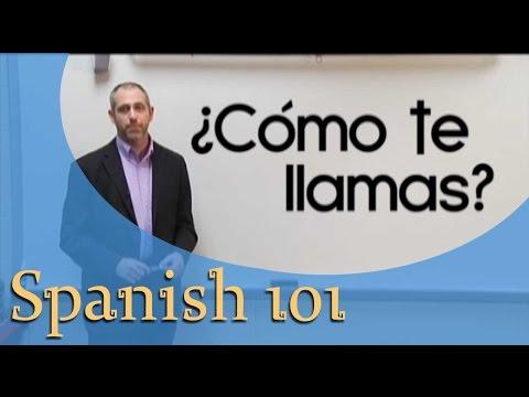 Spanish For Beginners | Spanish 101