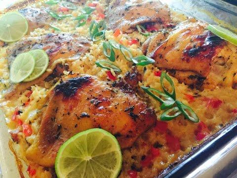 MESHA'S  Classic Chicken and Rice Bake
